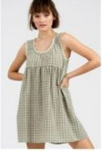 Load image into Gallery viewer, Plaid Gingham Dress