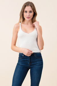 Fuzzy Tank Crop Top