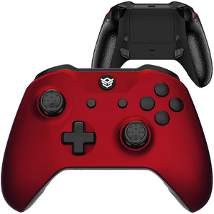 HEX eSports FPS BLADE Controller 2 Mappable Rear Buttons & Trigger Stop for Xbox ONE, Xbox Series X/S, PC Wireless Gamepad - Scarlet Red