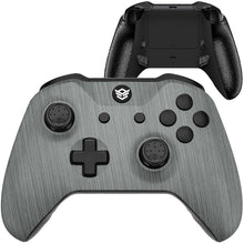 Load image into Gallery viewer, HEX eSports FPS BLADE Controller 2 Mappable Rear Buttons & Trigger Stop for Xbox ONE, Xbox Series X/S, PC Wireless Gamepad - Brushed Silver