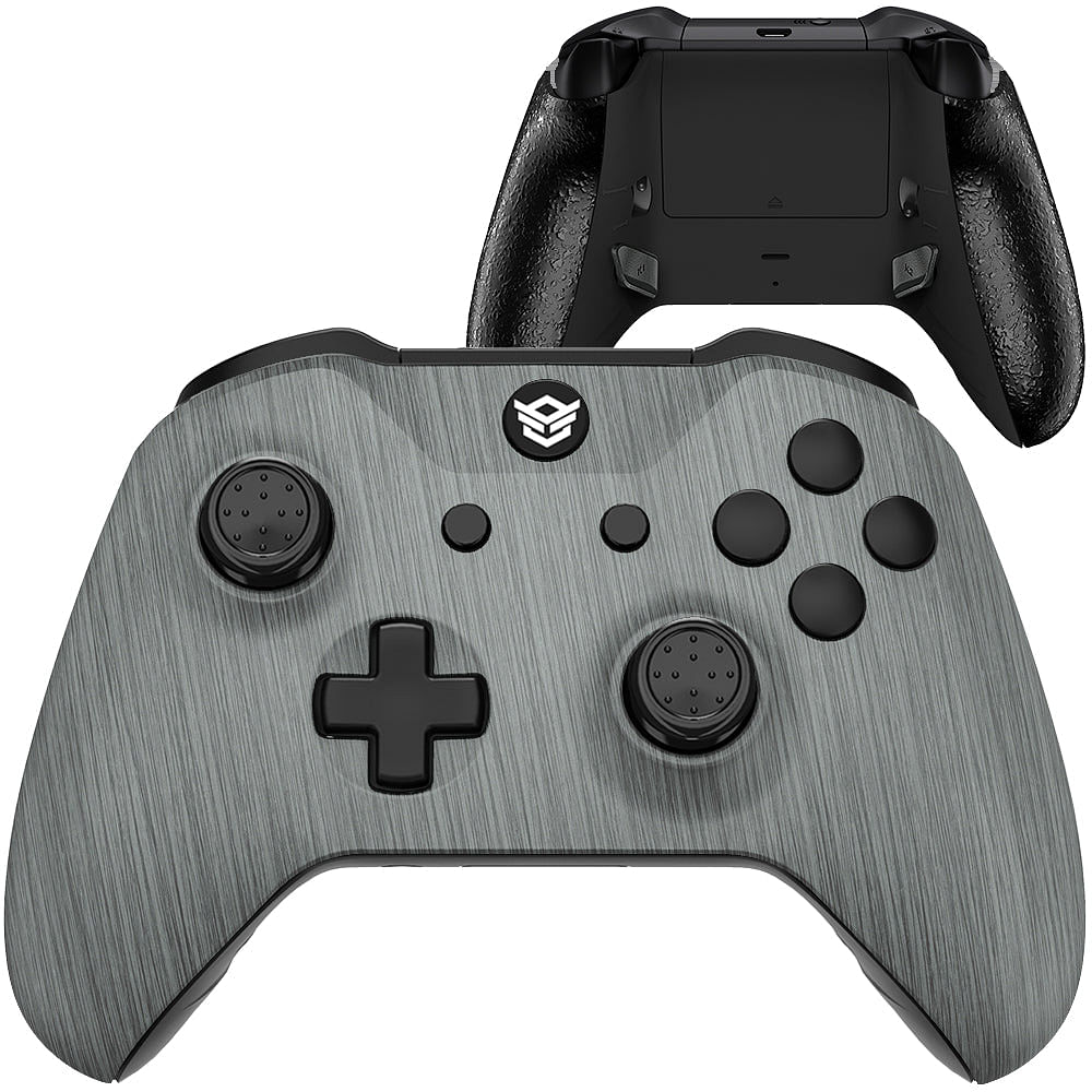 HEX eSports FPS BLADE Controller 2 Mappable Rear Buttons & Trigger Stop for Xbox ONE, Xbox Series X/S, PC Wireless Gamepad - Brushed Silver