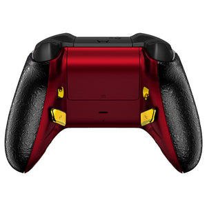 HexGaming eSports BLADE  for Xbox Series X/S, XBOX controller custom controller - Surreal Lava Red