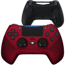 Load image into Gallery viewer, HEX eSports FPS HYPER Controller 4 Mappable Rear Buttons & Trigger Stop for PS4 PC Wireless - Scarlet Red