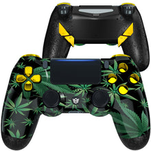 Load image into Gallery viewer, HexGaming eSports EDGE Customized Controller for PS4 Elite controller  paddles & Thumbsticks & Hair Trigger - Weeds