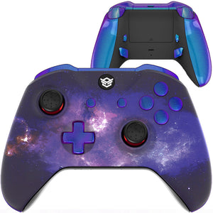 HexGaming eSports BLADE Controller  for XBOX customized controller, Xbox Series X/S, PC Wireless FPS Gamepad - Nubula Galaxy Chameleon