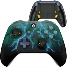 Load image into Gallery viewer, HexGaming eSports BLADE Mappable Rear Buttons & Interchangeable Thumbsticks & Triggers Stop for Xbox Series X/S - Green Storm