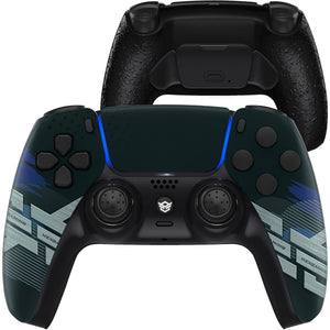 HexGaming Rival Controller 2 Mappable Paddles & Thumbsticks & Hair Trigger for Customized PS5 Controller PC Wireless FPS Esport Gamepad - Zero Plan