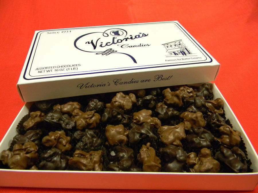 Chocolate Covered Raisin Clusters