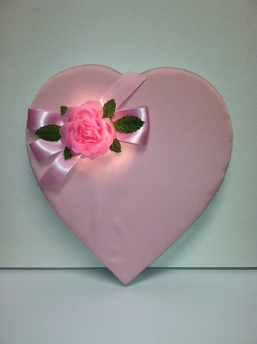 Pink Padded Rose Box (BH16PS)