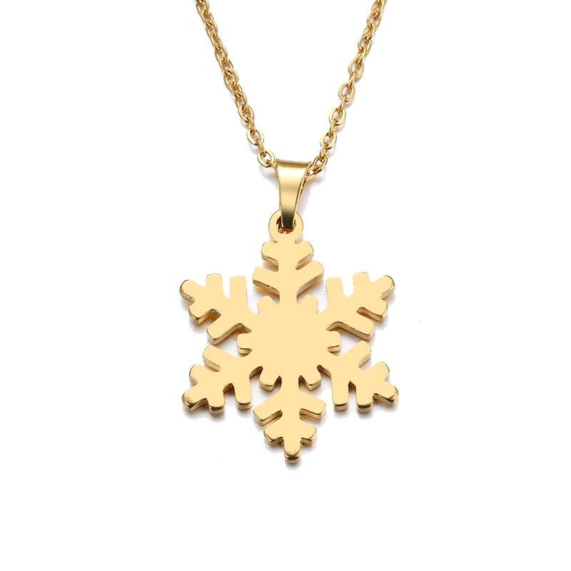 Magical Snowflake Necklace