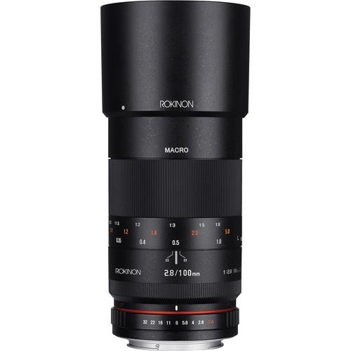 Rokinon 100mm f/2.8 Macro Lens for Sony A