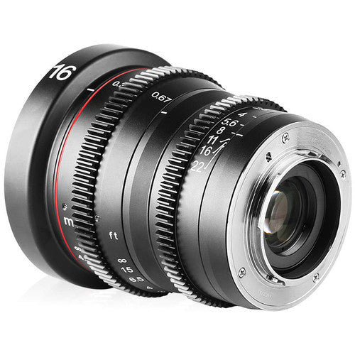 Meike Cinema Prime 16mm T2.2 MFT
