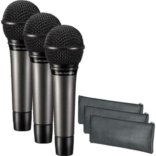 Audio-Technica ATM510PK Three Mic Vocal Pack