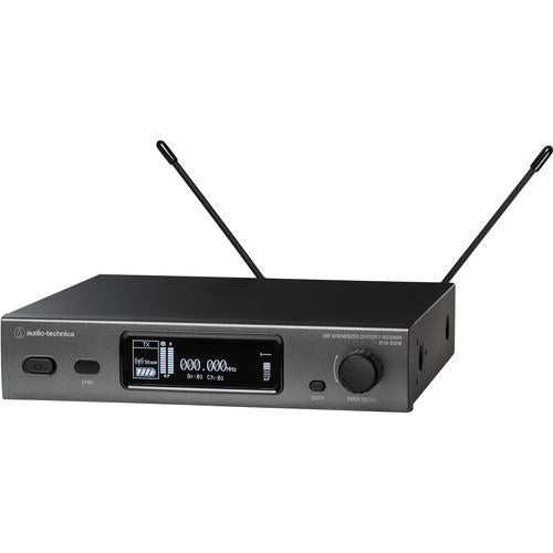 Audio Technica ATW-3211DE2 Wireless System with ATW-R3210 Receiver & ATW-T3201 Body-Pack Transmitter - 470-530 MHz