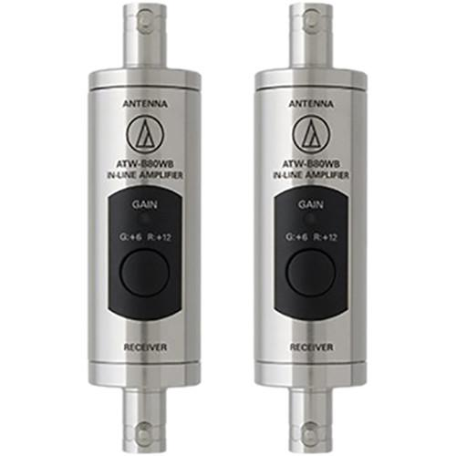 Audio-Technica ATW-B80WB In-Line Antenna Boosters (470 - 990MHz)
