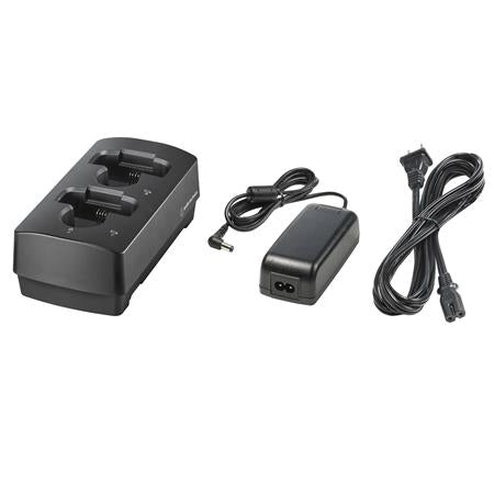 Audio-Technica ATW-CHG3AD 3000 Series (4th Gen) Charger Bundle: ATW-CHG3 2-Bay Charging Station & AD-SA1230XA AC Adapter