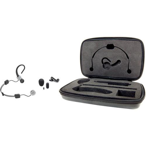 Audio-Technica BP893xcH MicroSet Omni Condenser Headworn Wireless Mic - Detachable Cable w/ cH Connector - Black