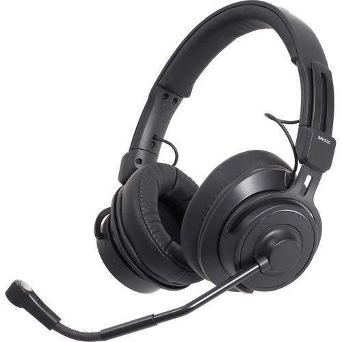 Audio-Technica BPHS2C-UT Broadcast Stereo Headset with Cardioid Condenser Boom Microphone - Unterminated