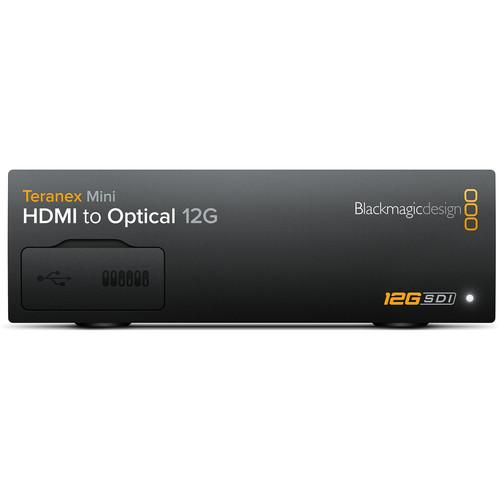 Blackmagic Teranex Mini - HDMI to Optical 12G