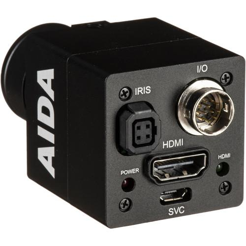 Aida Imaging FHD HDMI POV Camera (Multi HD Format) with TRS Stereo Audio Input