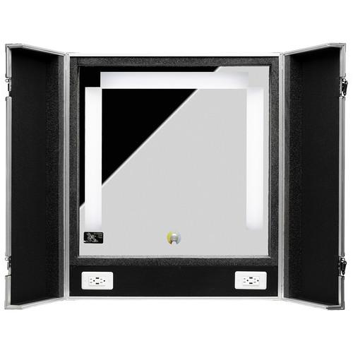 Hive Lighting Hive Honey Omni-Color Beauty Mirror Kit (Including Carrying Case w/ 4 Outlets and 4 USB Inputs Built-in)