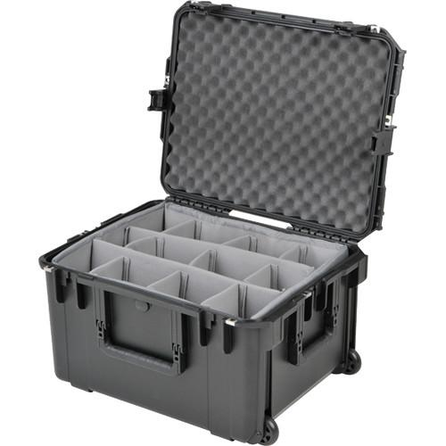 Hive Lighting Hornet 200-C 2 Light Hard Rolling Case w/ Padded Dividers