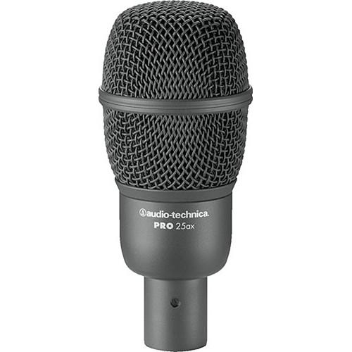 Audio-Technica PRO 25ax Hypercardioid Dynamic Instrument Microphone