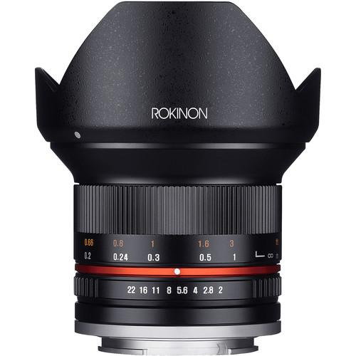 Rokinon 12mm f/2.0 NCS CS Lens for Sony E-Mount (Black)