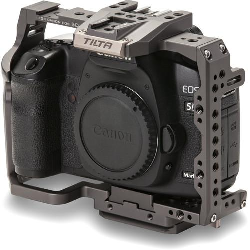 Tilta Full Camera Cage for Canon 5D/7D Series - Tilta Grey
