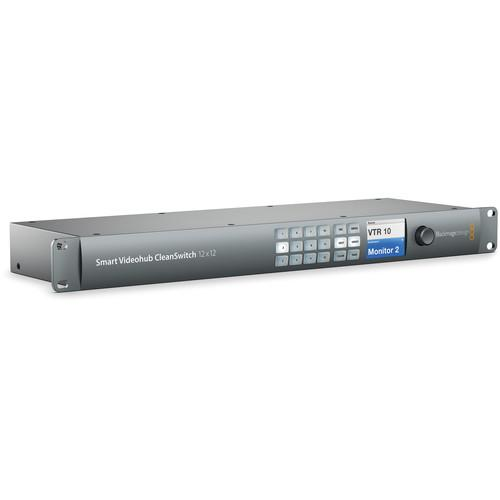 Blackmagic Smart Videohub CleanSwitch 12x12
