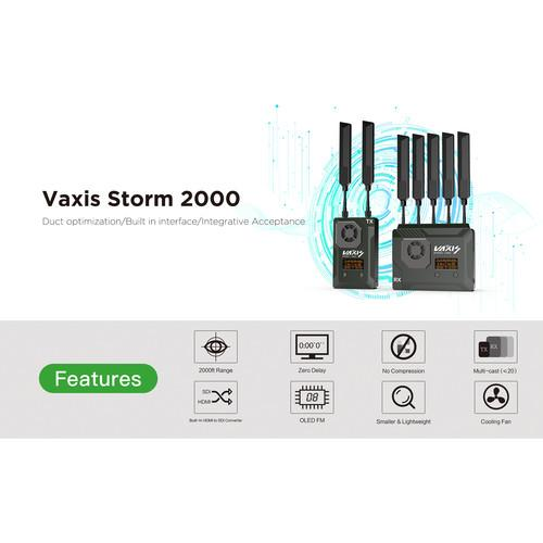 Vaxis Storm 2000 SDI/HDMI Wireless Transmission TX/RX Kit