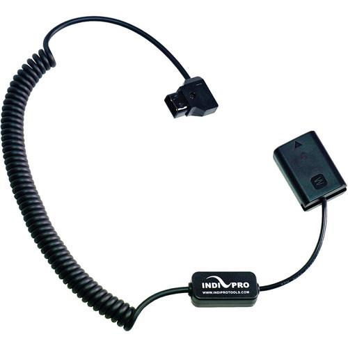 "Indipro Coiled D-Tap to Sony NP-FW50 type Dummy Battery (24-36"", Regulated)"