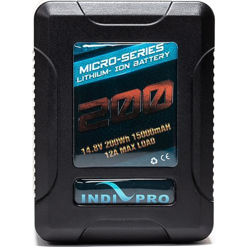 Indipro Micro-Series 200Wh V-Mount Li-Ion Battery