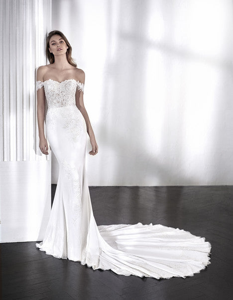 Pronovias San Patrick Wedding Dress Style LAELIA  (71175002) - Shop Your Dream Bridal