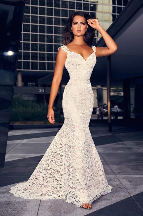 Paloma Blanca Wedding Dress Style 4840 - Shop Your Dream Bridal