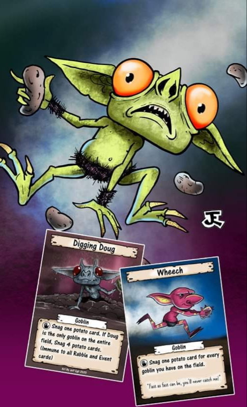 Spuds 'n Goblins card game - coming soon