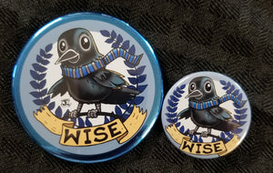 Raven Pride Magnet and Button set