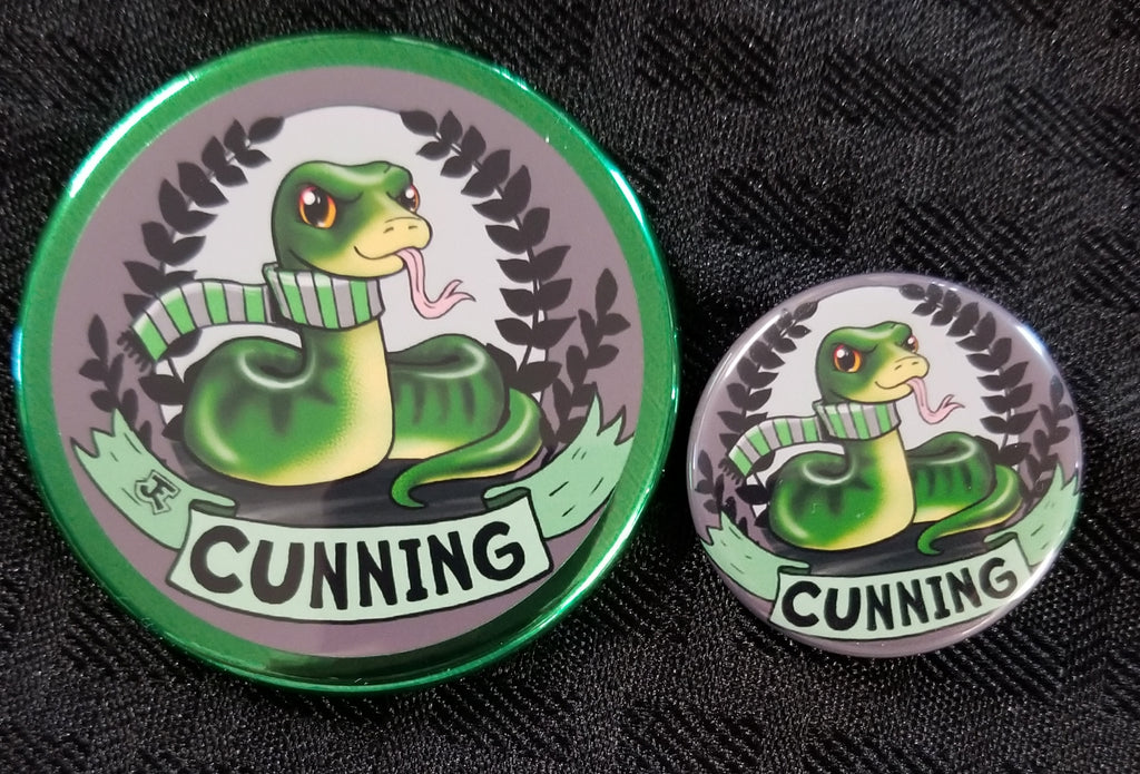 Serpent Pride Magnet and Button set