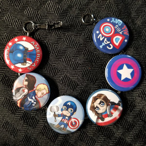 Steve and Bucky bracelet with Bi-shield