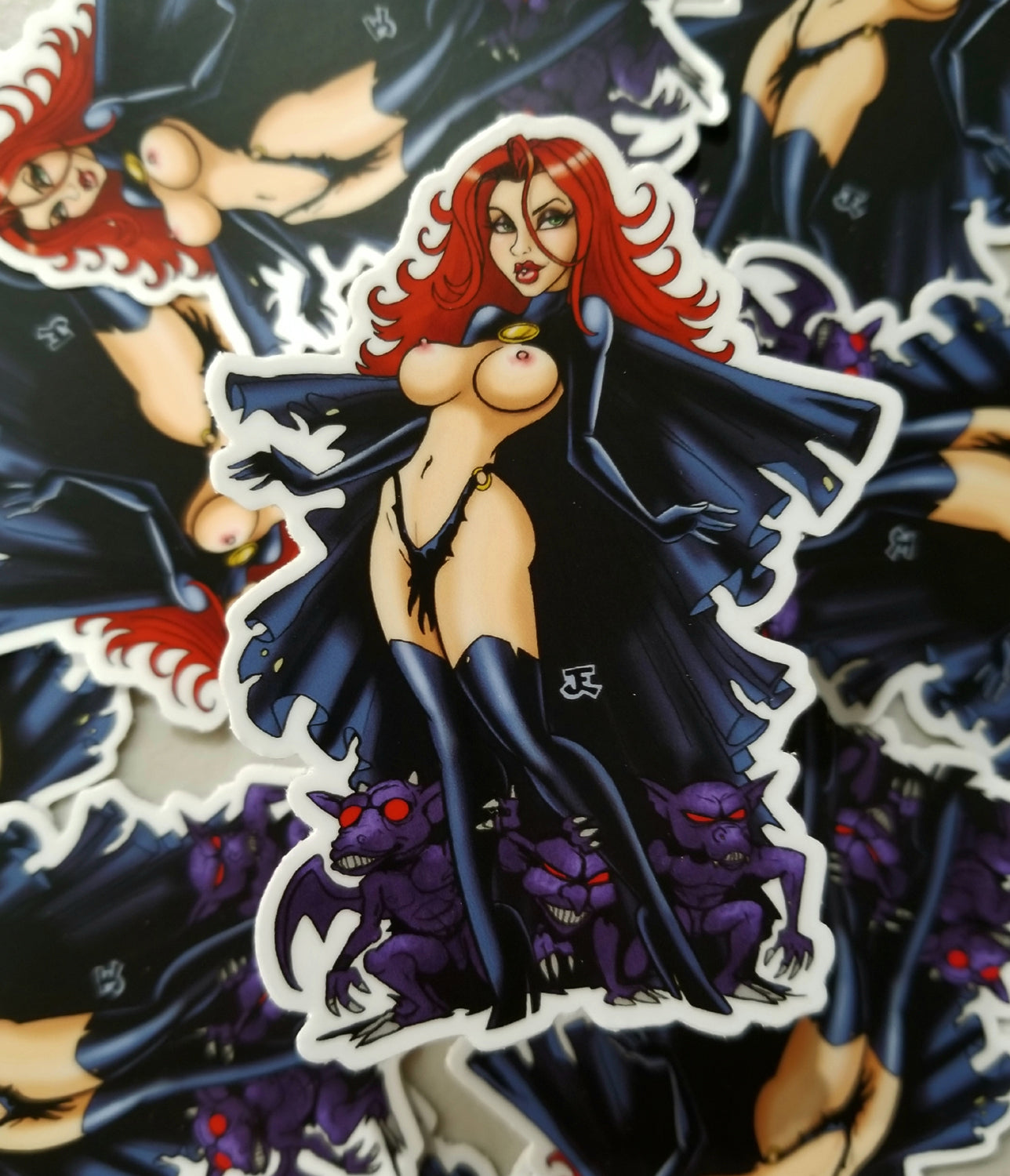 Goblin Queen (Spicy Version) pin-up vinyl sticker