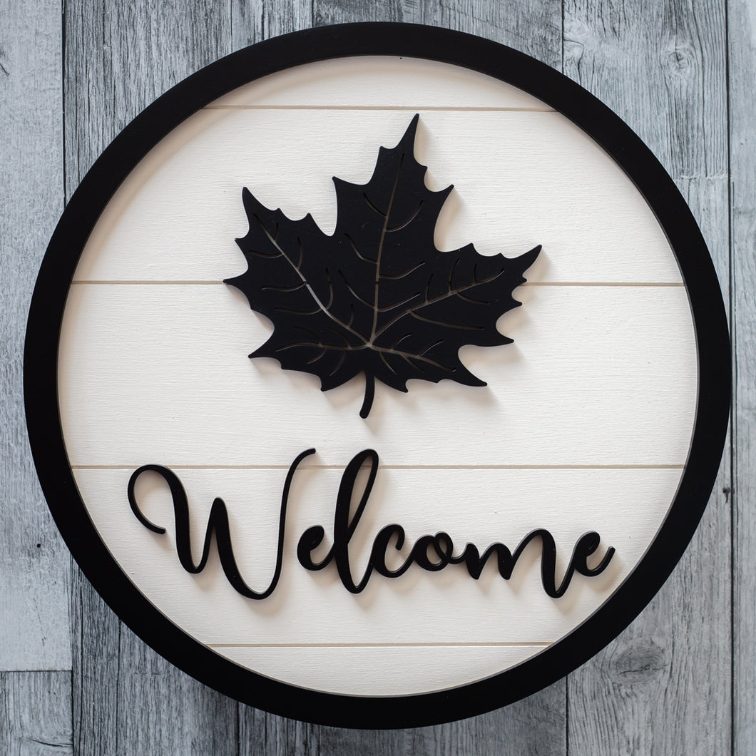 Welcome Maple Leaf