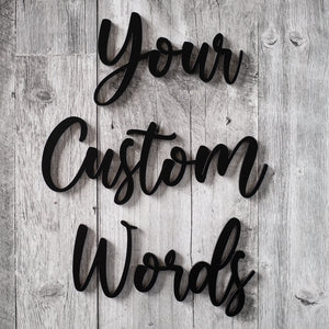 Custom Words