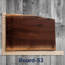 "Load image into Gallery viewer, Live Edge Charcuterie Boards - 12"" to 15"" wide"