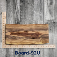 "Load image into Gallery viewer, Live Edge Charcuterie Boards - 8"" to 10"" wide"