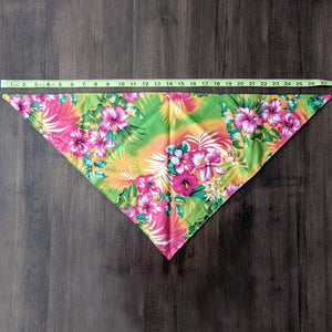 "Bandana ""Hawaii"" yellow"