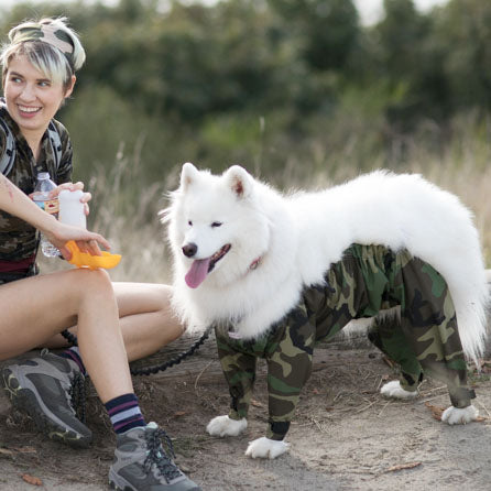 """Squirrel Hunter"" Dog Pants"