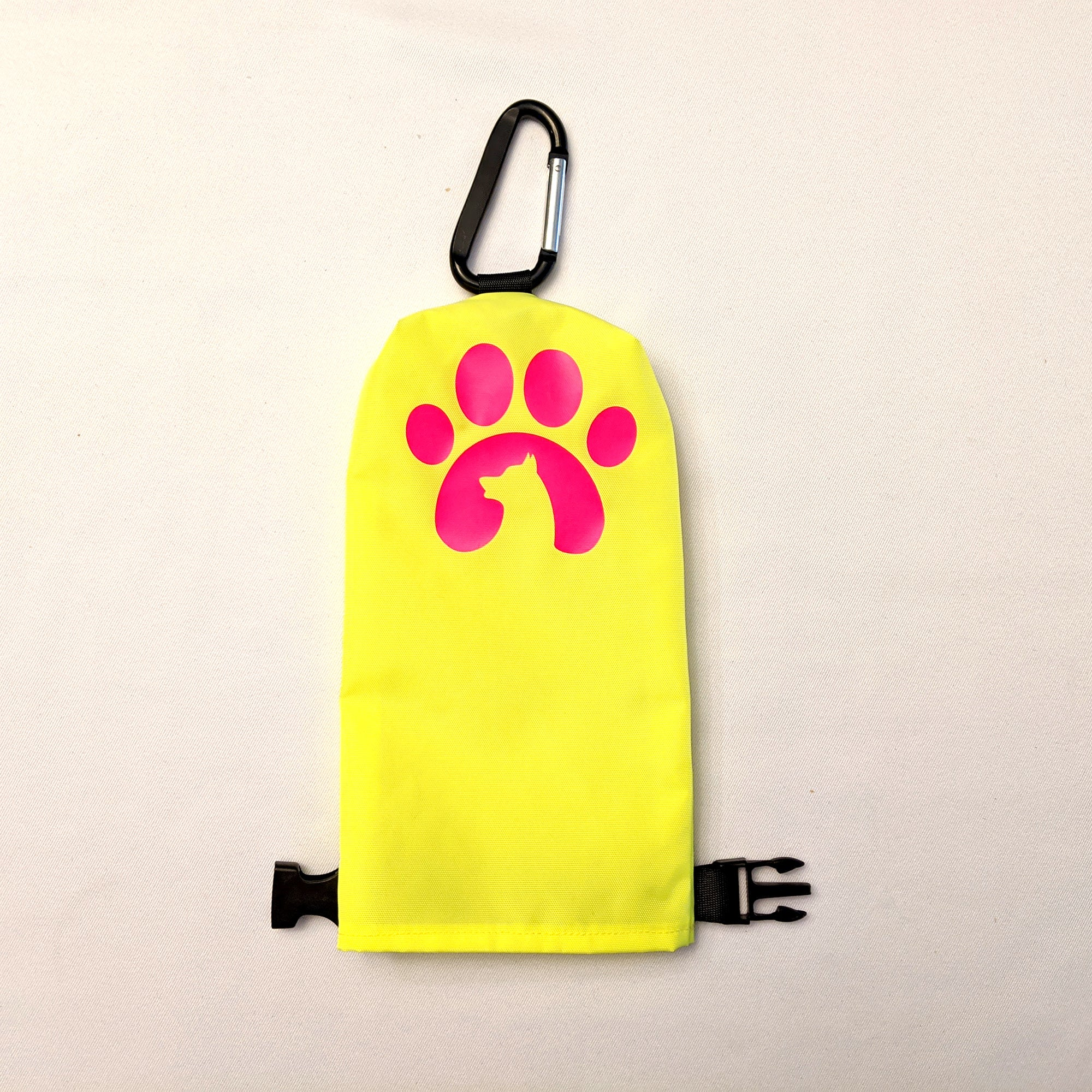 """Poo Pouch"" Leash Bag for Hands-free Walks"