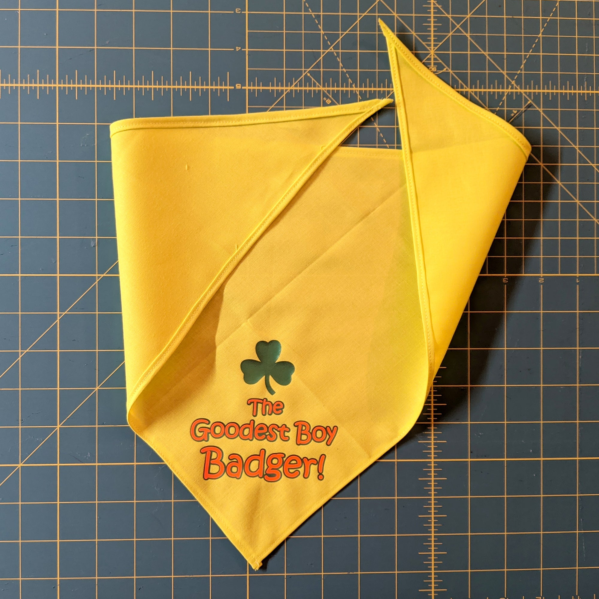 "Custom Bandana ""The Goodest Girl/Boy <NAME>"""