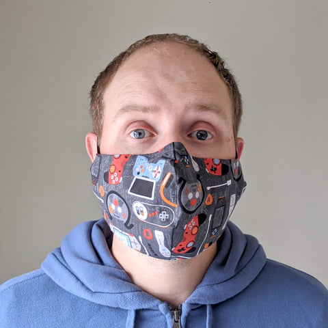 "Face Mask ""Gamer"""