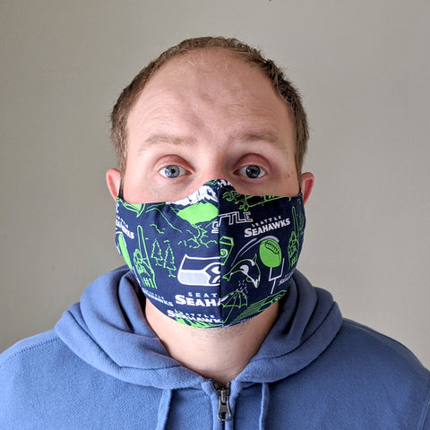 "Face Mask ""Seahawks"""